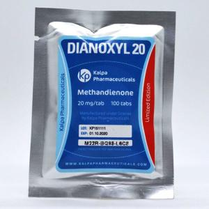 Dianoxyl 20 - Methandienone - Kalpa Pharmaceuticals LTD, India